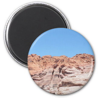 Red Rock Canyon 2 Inch Round Magnet
