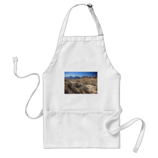 Red Rock Canyon & Dry Riverbed Adult Apron