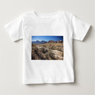 Red Rock Canyon & Dry Riverbed Baby T-Shirt