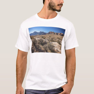 Red Rock Canyon & Dry Riverbed T-Shirt