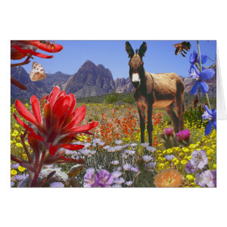Red Rock Canyon fantasy Card