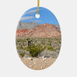 Red Rock Canyon in Nevada Ceramic Ornament