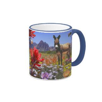 Red Rock Canyon, Las Vegas Nevada Ringer Mug