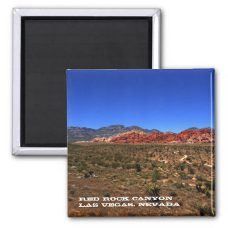 Red Rock Canyon Magnet