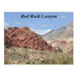 Red Rock Canyon, Mojave Desert, Near Las Vegas Post Card