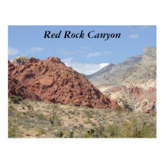 Red Rock Canyon, Mojave Desert, Near Las Vegas Postcard