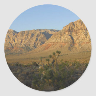 Red Rock Canyon National Conservation Area 2 Classic Round Sticker