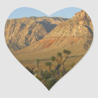 Red Rock Canyon National Conservation Area 2 Heart Sticker
