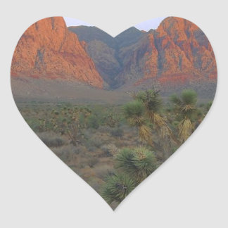 Red Rock Canyon National Conservation Area Heart Sticker