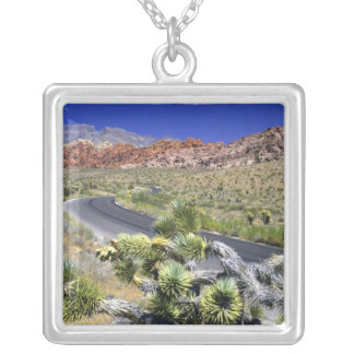 Red Rock Canyon National Conservation Area, Las Square Pendant Necklace
