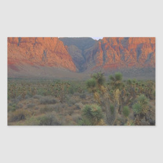 Red Rock Canyon National Conservation Area Rectangular Sticker
