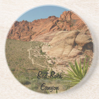 Red Rock Canyon National Conservation Area Sandstone Coaster