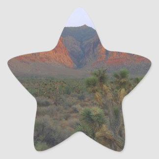 Red Rock Canyon National Conservation Area Star Sticker