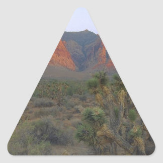 Red Rock Canyon National Conservation Area Triangle Sticker
