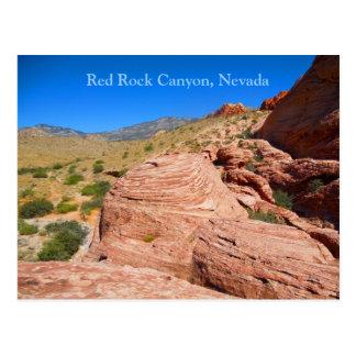 Red Rock Canyon near Las Vegas Boulevard Postcard