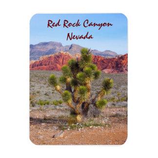Red Rock Canyon Near Las Vegas, Nevada Rectangular Photo Magnet
