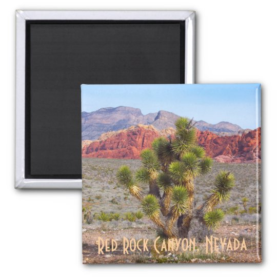 Red Rock Canyon, Nevada 2 Inch Square Magnet