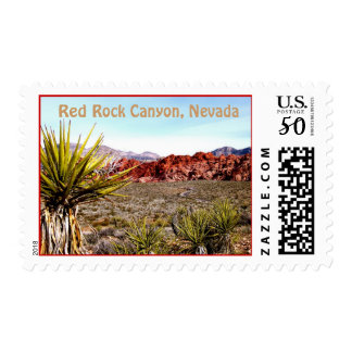 Red Rock Canyon, Nevada Postage