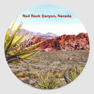 Red Rock Canyon Nevada stickers