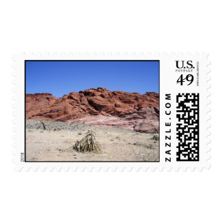 Red Rock Canyon, NV Postage Stamp