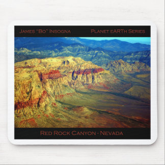 Red Rock Canyon _ Planet Art Series Mouse Pad