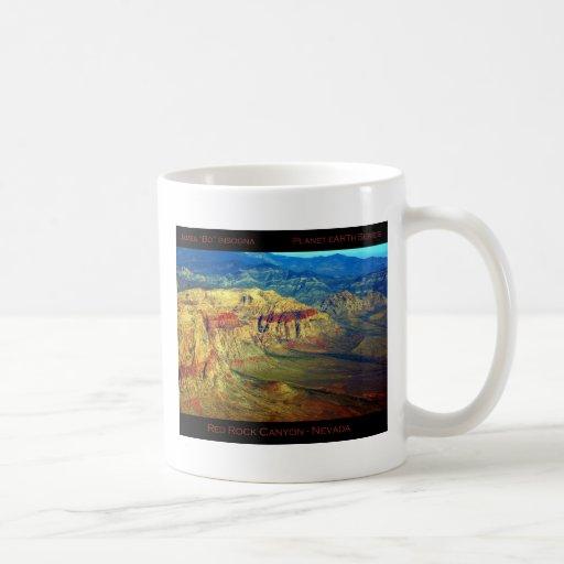 Red Rock Canyon _ Planet Art Series Mug