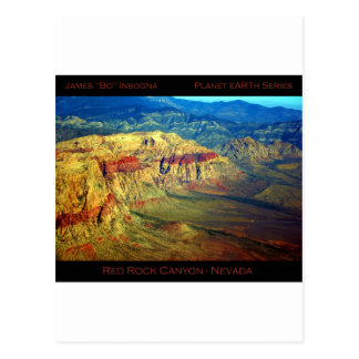 Red Rock Canyon _ Planet Art Series Post Cards