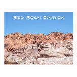 Red Rock Canyon Post Card