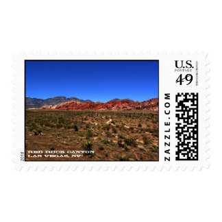 Red Rock Canyon Postage