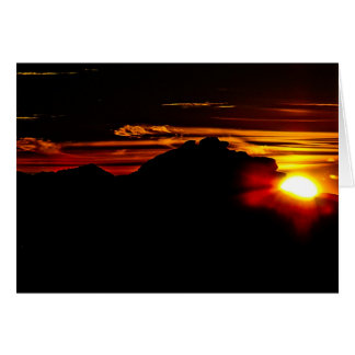 Red Rock Canyon Sunrise Greeting Card