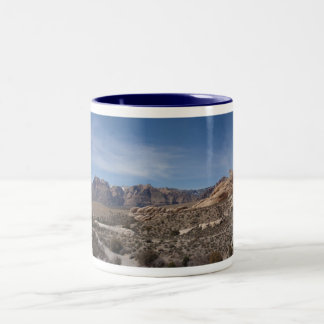 Red Rock Canyon Two-Tone Coffee Mug