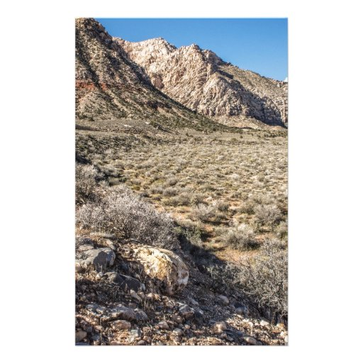 Red Rock Canyon View Stationery
