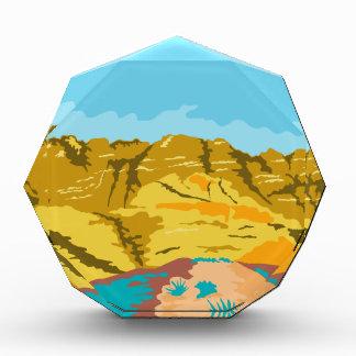 Red Rock Canyon WPA Acrylic Award
