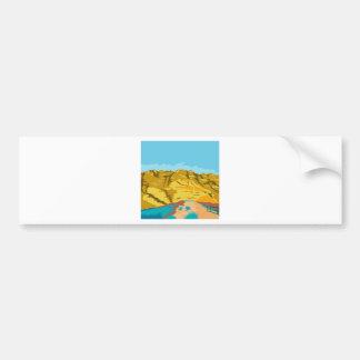 Red Rock Canyon WPA Bumper Sticker