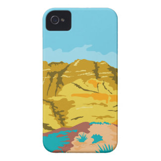 Red Rock Canyon WPA iPhone 4 Case-Mate Case