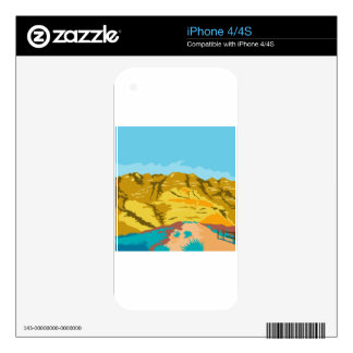 Red Rock Canyon WPA Skin For iPhone 4S