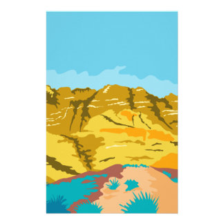 Red Rock Canyon WPA Stationery
