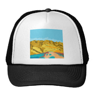 Red Rock Canyon WPA Trucker Hat