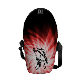 Red Rock Climbing Courier Bag