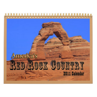 Red Rock Country 2011 CALENDAR
