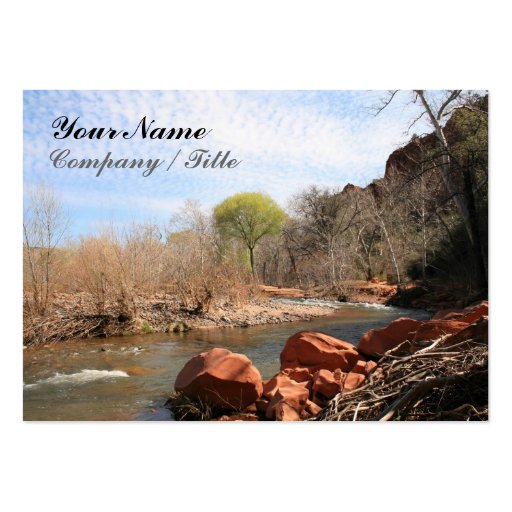Red Rock Creek Business Card Templates