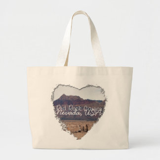 Red Rock Desert; Nevada Souvenir Large Tote Bag