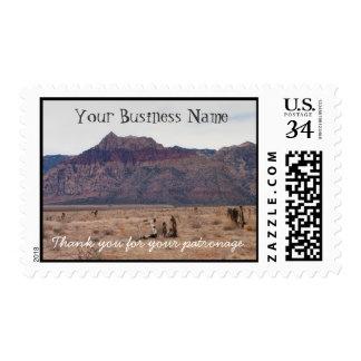Red Rock Desert; Promotional Postage