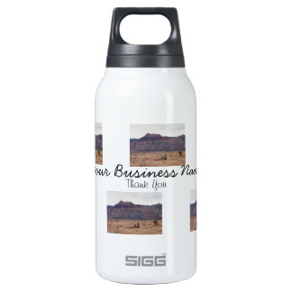 Red Rock Desert; Promotional 10 Oz Insulated SIGG Thermos Water Bottle