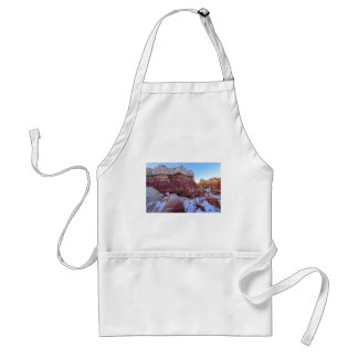Red Rock Formation Adult Apron