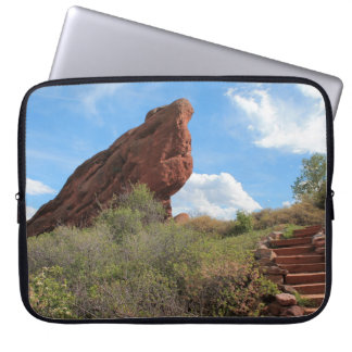 Red Rock Formation Laptop Sleeve