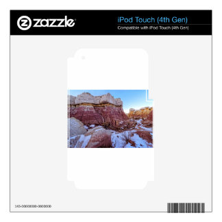 Red Rock Formation Decal For iPod Touch 4G