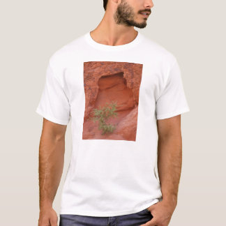 Red Rock Green Plant T-Shirt