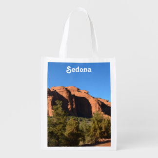 Red Rock in Sedona Grocery Bag