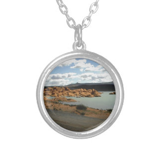 Red Rock Lake Personalized Necklace